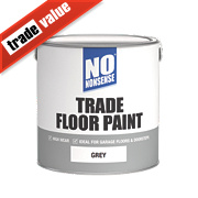 No Nonsense Trade Floor Paint Grey 2.5Ltr